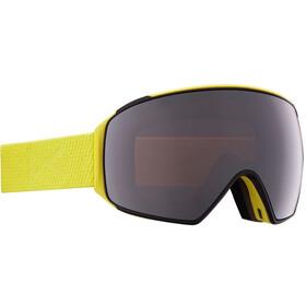 Anon M4 Cylindrical Goggles incl. Bonus Lens + MFI Face Mask Men, zwart/bont